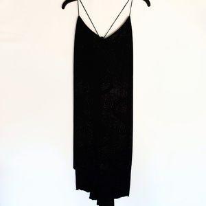 Chesley Black Glitter Detail Dress